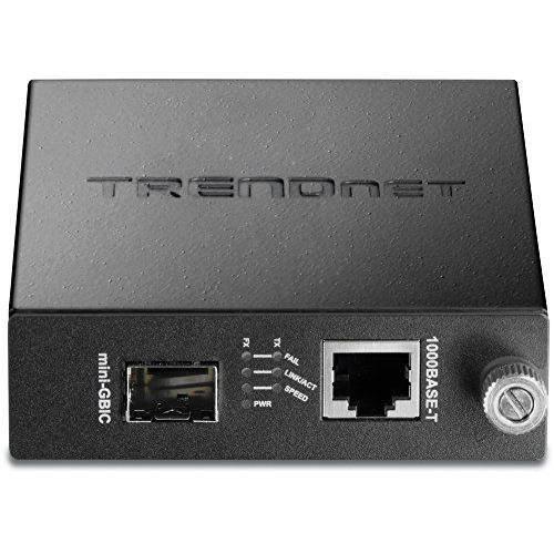 TRENDnet - Convertisseur Média 100/1000 Base-T vers SFP, TFC-1000MGA