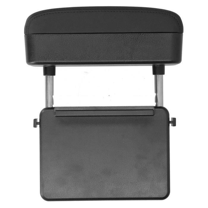 Zerodis recharge sans fil de voiture Accoudoir de console centrale réglable Support coudé Boîte de rangement Chargeur de