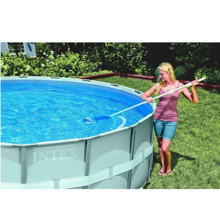 Solde piscine hors sol intex interesting aspirateur pour for Piscine intex solde