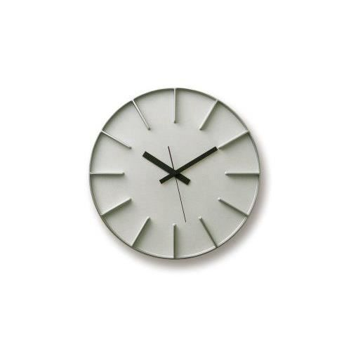 lemnos az 0115 edge clock horloge murale aluminium grand mod le achat vente horloge cdiscount. Black Bedroom Furniture Sets. Home Design Ideas