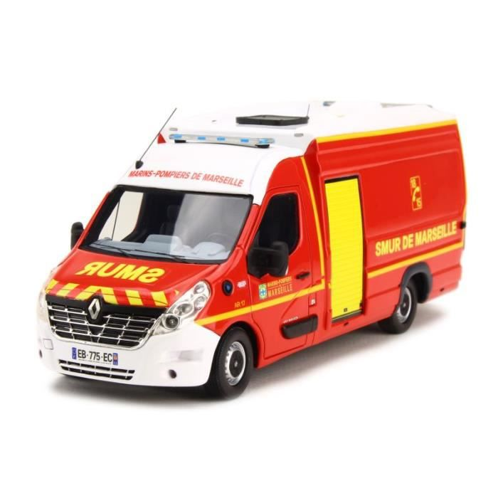 camion de sapeurs pompiers renault master smur sanicar bmpm bataillon marins pompiers de. Black Bedroom Furniture Sets. Home Design Ideas
