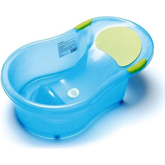 BAIGNOIRE  DBB REMOND Baignoire bébé + transat intégré - Bleu