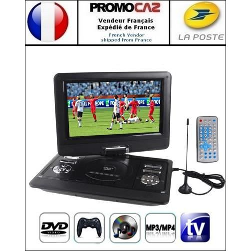 dvd console jeux portable 12 5 pouces mp3 mp4 tv sd usb lecteur dvd portable avis et prix. Black Bedroom Furniture Sets. Home Design Ideas