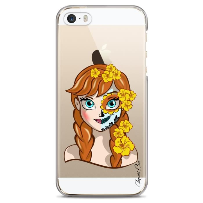 coque iphone 5 5s se transparente motif super hero