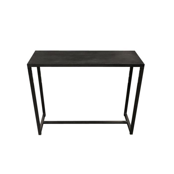 miliboo console industrielle en m tal et b to achat vente console rawy console cdiscount. Black Bedroom Furniture Sets. Home Design Ideas