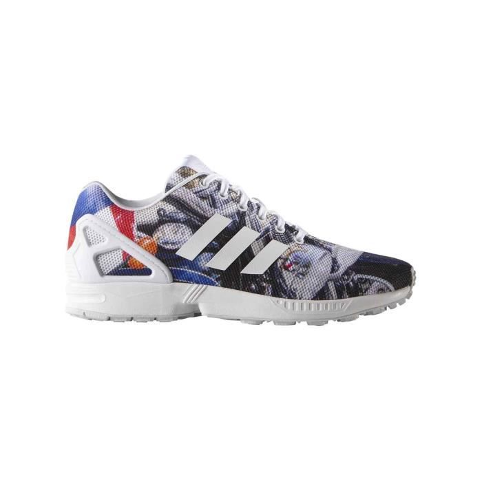 BASKET MULTICOLOR SNEAKERS ADIDAS ZX FLUX