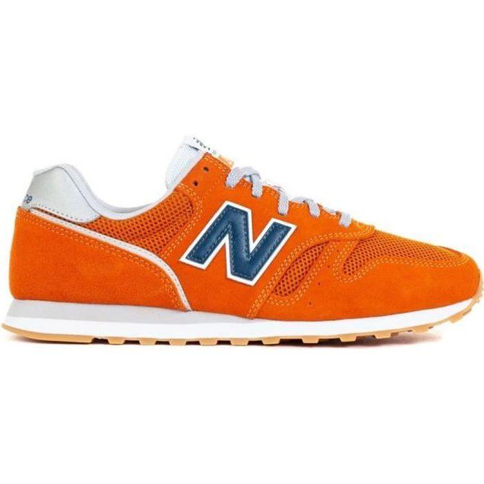 Baskets New Balance 373 42,5 Orange - Cdiscount Chaussures