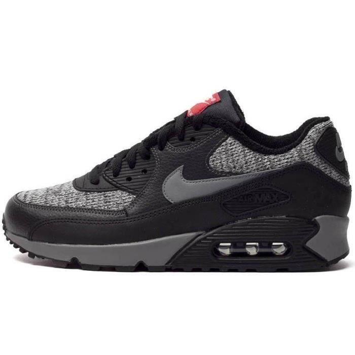 Chaussure Nike Air Max 90 Baskets de running pour Homme Noir Noir ...