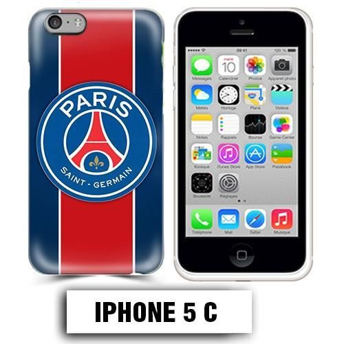 coque iphone 5c foot psg logo club