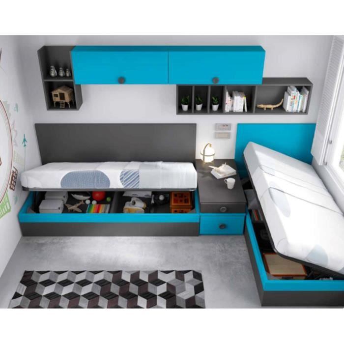 lit escamotable la redoute lit mezzanine la redoute interieurs with lit escamotable la redoute. Black Bedroom Furniture Sets. Home Design Ideas