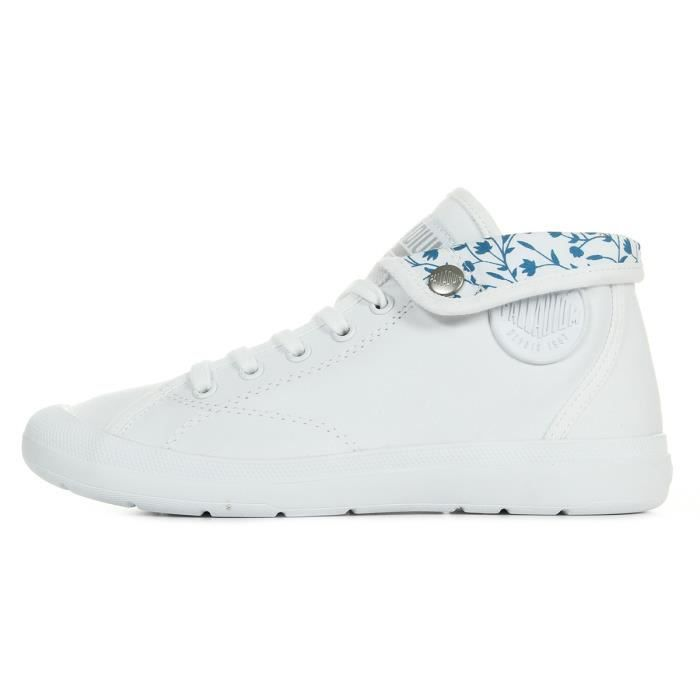 Baskets Palladium Aventure White