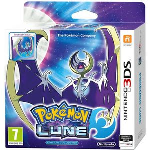 JEU 3DS Pokémon Lune Fan Edition (Jeu + Steelbook) Jeu 3DS