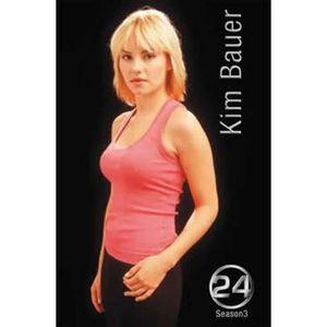 AFFICHE - POSTER 24 Heures Chrono Poster - Saison 3, Kim Bauer (…