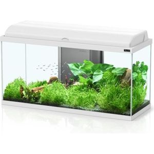 AQUARIUM AQUADREAM 100 BLANC LED 115 LITRES