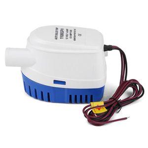 POMPE DE CALE 12V Mini pompe à eau de cale submersible commutate