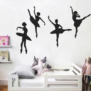 STICKERS Ballet Creative Combinaison de fille Stickers Mura
