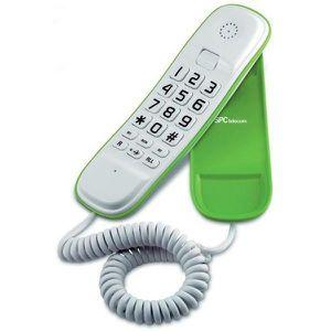 Téléphone fixe Téléphone fixe avec répondeur intégré - Téléphone