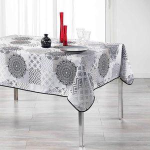 NAPPE DE TABLE Nappe Flamenco gris 150 x 240 cm
