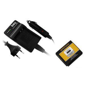 BATTERIE APPAREIL PHOTO Batterie + Chargeur pour Fuji Finepix XP1, XP100,
