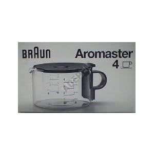 CAFETIÈRE Verseuse aromaster kfk4 pour Cafetiere Braun - 366