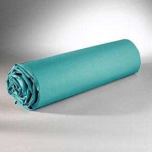 DRAP HOUSSE Drap housse 160 x 200 cm 100% coton 57 fils / cm -