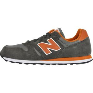 d5f113849592a NEW BALANCE ML373 SGO CHAUSSURES HOMME, BASKETS MODE, GRIS - ORANGE ...