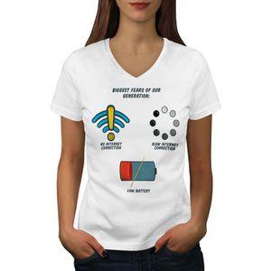 T-SHIRT Premier Monde Problèmes Women  T-shirt à sonnerie