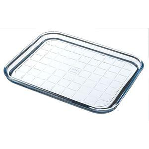 MOULE  PYREX Plaque de cuisson Classic Glassware 32 cm tr