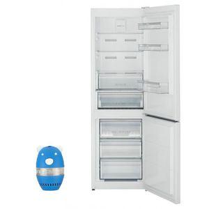 RÉFRIGÉRATEUR CLASSIQUE SHARP Réfrigérateur Frigo Combiné blanc 324L A+ Fr
