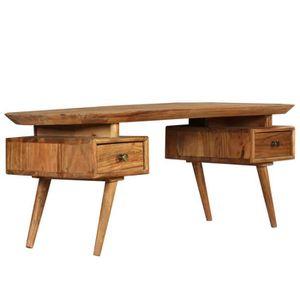 TABLE BASSE Table basse Bois d'acacia massif 120 x 50 x 45 cm
