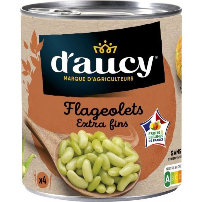 D Aucy Flageolets extra fins D'AUCY