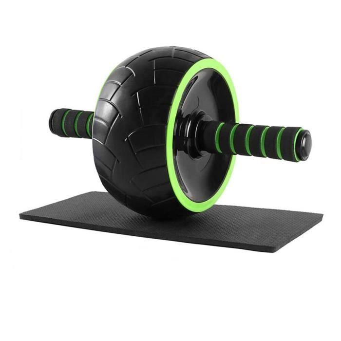 Jeu de rouleaux de roues AB avec barres de traction, disques de glissement, corde à sauter, tapis d'exercices à la [A5F5990]