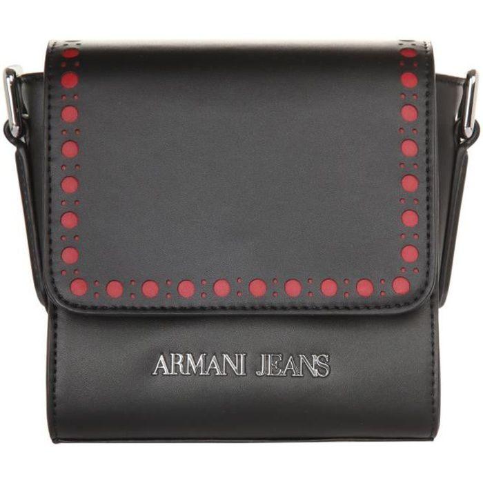 Armani Jeans Femmes Sac à bandoulière Nero 9221516A715-00020