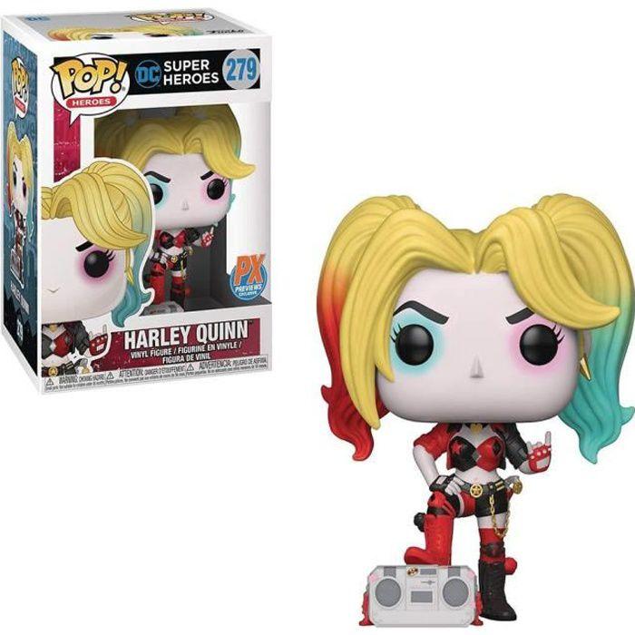 figurine Batman miniature Harley Quinn avec Boombox Rebirth US Pop! Vinyle