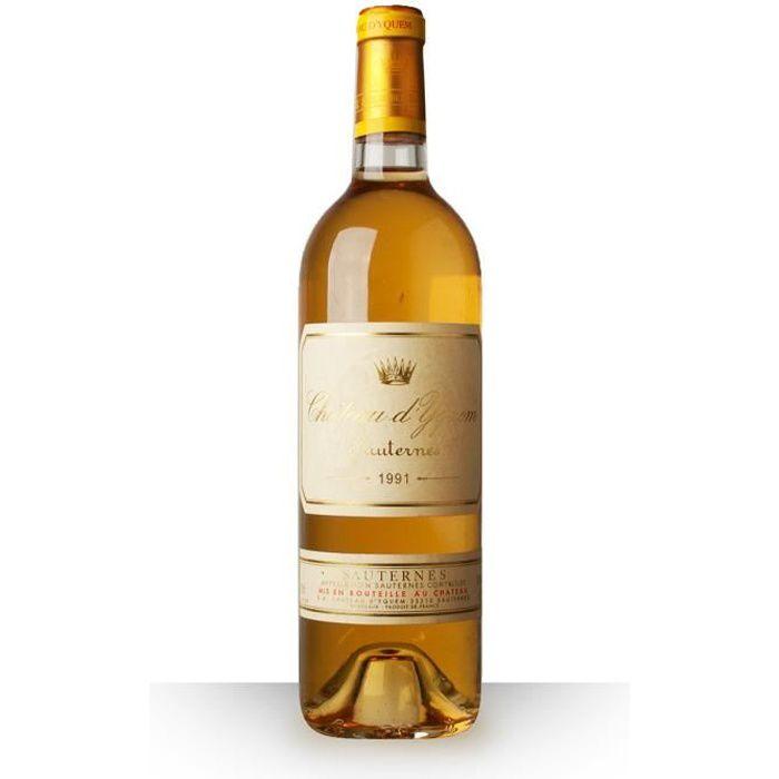 Château d'Yquem 1991 Blanc 75cl AOC Sauternes - Vin Blanc