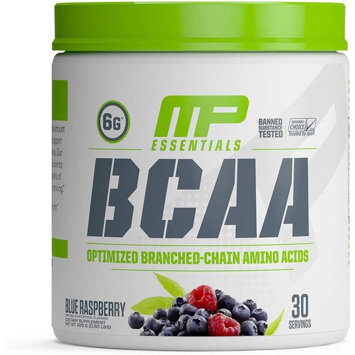 Amaigrissement et perte de poids Musclepharm BCAA 3:1:2 Complément Alimentaire Framboise Bleu 552680