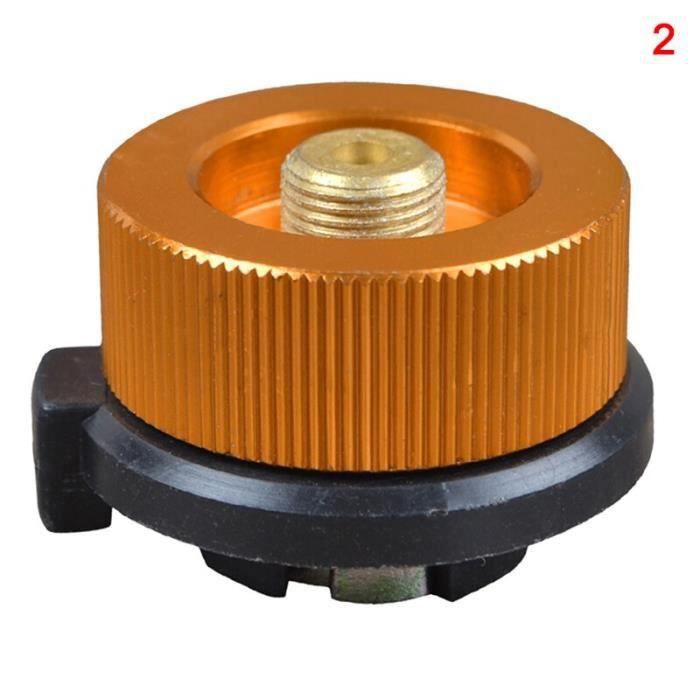'Best 'réchaud à gaz d'extérieur - Adaptateur de recharge de Propane, cylindre plat coupleur de réservoi - Modèle: 2 - WMCFQTB01551