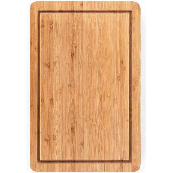Blumtal Planche A Decouper Bois - Cuisine, Bambou, Grande Taille, 38 x 25cm