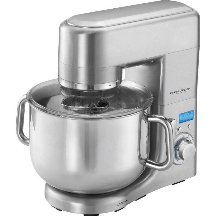 Robots multifonctionsProfi Cook PC-KM 1096 Robot de cuisine multifonction, 10 L, 1500 W, acier inoxydable78