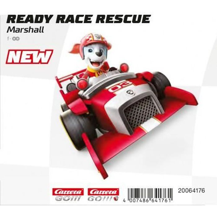 Carrera GO!!! 64176 PAW Patrol - Ready Race Rescue - Marshall