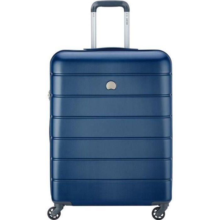 valise ou bagage vendu seul Lagos Valise Trolley 4 Roues 66 cm Bleu