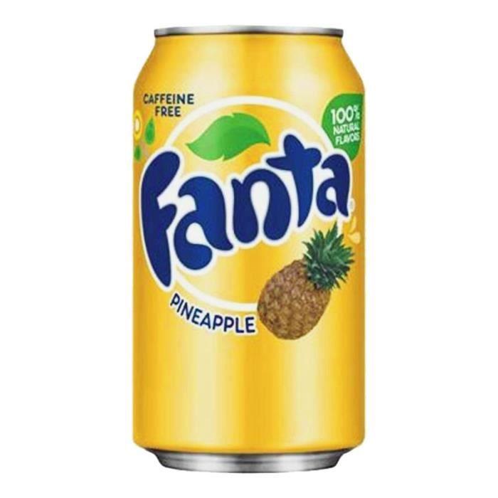 Fanta - Fanta Ananas 35,5cl (pack de 12)