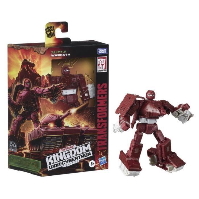 Transformers Generations War for Cybertron: Kingdom - WFC-K6 Warpath Deluxe