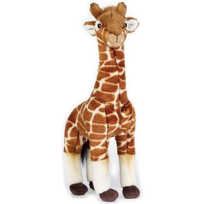 National Geographic peluche girafe junior 35 cm en peluche marron