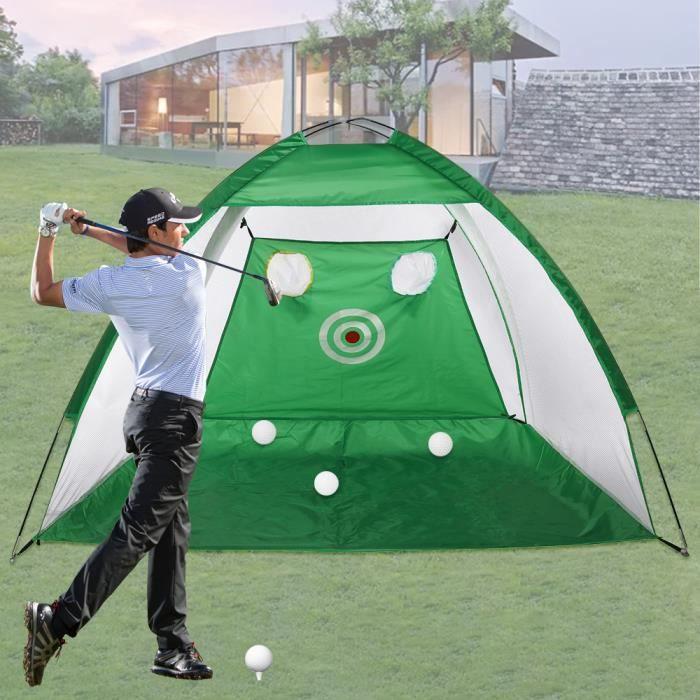 3M Filet Tente Golf Entraînement Formation Sport Vert
