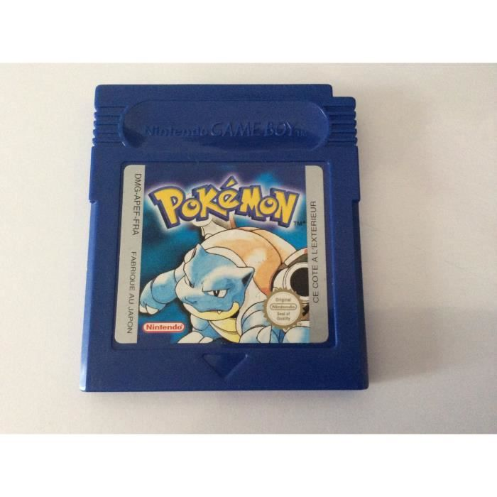 Pokemon bleu game boy