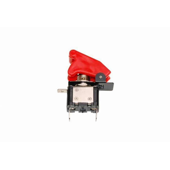 Interrupteur de securite avec diode rouge - Replay