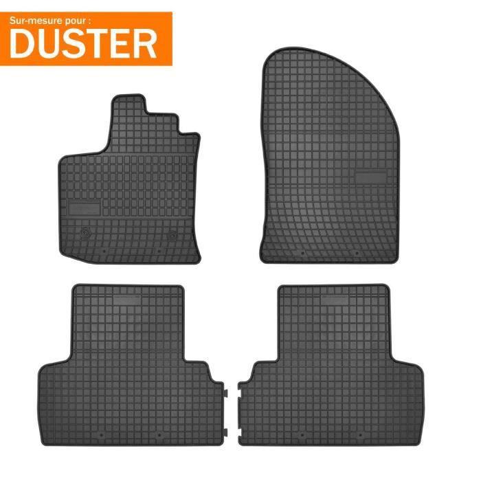 Tapis de sol en caoutchouc pour Dacia Duster depuis 2010