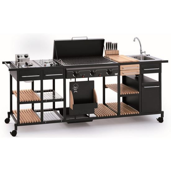 barbecue gaz et plaques en fonte rainur e mag achat vente barbecue barbecue gaz et. Black Bedroom Furniture Sets. Home Design Ideas