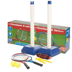 FILET DE TENNIS Kit de Tennis et Filet avec Raquettes